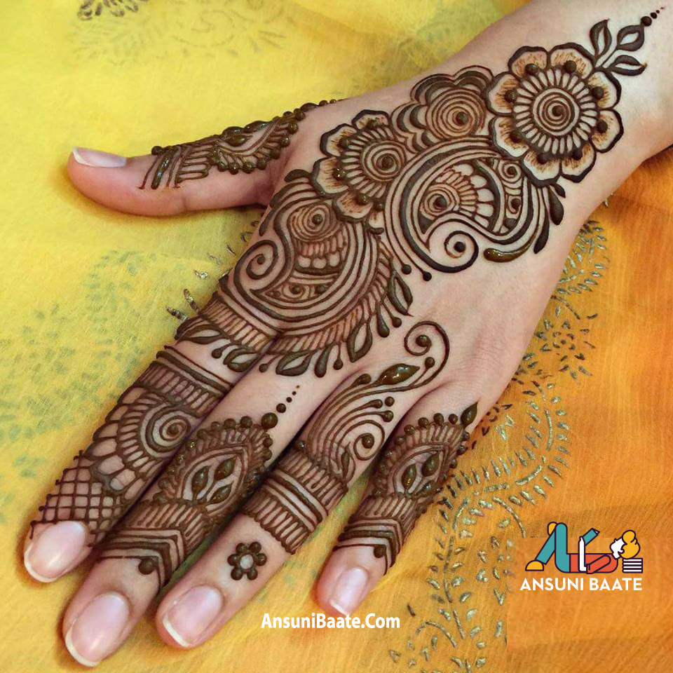 Mehndi Design Image HD Photo Wallpaper Free Download ←AnsuniBaate→